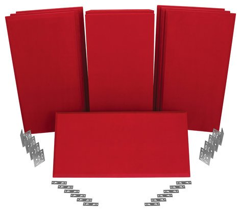 Auralex ProPanel SonoSuede ProKit-1 [PRE-ORDER] All-In-One Acoustical Treatment System for Rooms 8x10 ft to 12x12 ft PROPANEL-SUEDE-KIT1