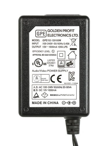 PreSonus 150-GPE152-120100W-S AC Adapter for FireStudio Mobile 150-GPE152-120100W-S