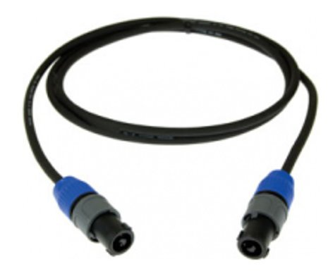 "Pro Co S16NQF-1 1 ft. 1/4"" Female NL2FC Speakon Cable S16NQF-1"