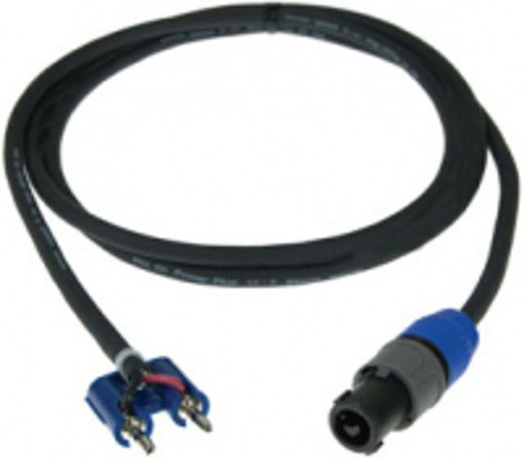 Pro Co S14BN-3 3 ft. Excellines Speakon to Banana Plug Speaker Cable S14BN-3