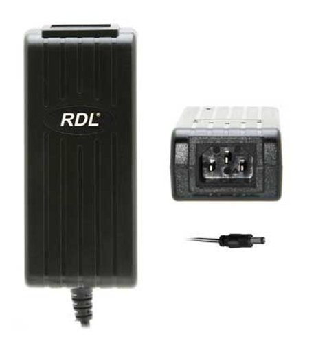 RDL PS24V2A 24VDC, 2A Universal Power Supply with North American Plug-End Cord PS24V2A