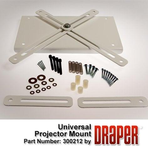 Draper Shade and Screen Universal Projector Mount for Scissor Lift SLX 300213