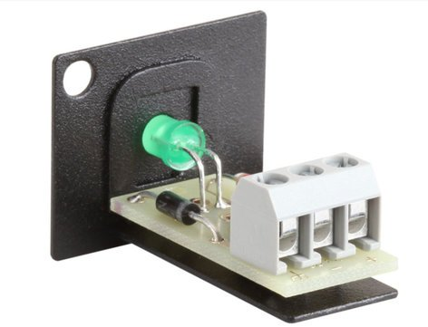 RDL AMS-LEDG Green LED Indicator for use with AMS-UF1, RMS-4, or SR-4 AMS-LEDG