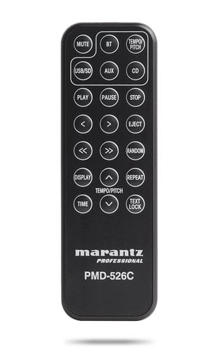 Marantz Professional PMD-526C CD/Media/Bluetooth Player with RS-232 PMD526C