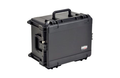 SKB Cases 3I-2222-12BC Waterproof Case with Handle, Wheels and Cubed Foam 3I-2222-12BC