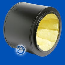 "Atlas Sound Q408 Speaker Enclosure 8"" Q Series 1 Cubic ft Cylindrical Enclosure with Undercoating Q408"