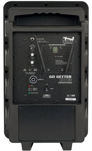 Anchor GG-DPDUAL-EMTA4F Go Getter Dual Deluxe Bluetooth-enabled PA System with Companion Speaker, Bodypack Transmitter, UltraLite Headset Microphone and Choice of 2nd Transmitter/Mic GG-DPDUAL-EMTA4F