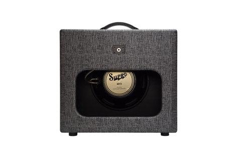 Supro 1790 Black Magick 1 x 12 Extension Cabinet BLACKMAGICK-EXT12-CA