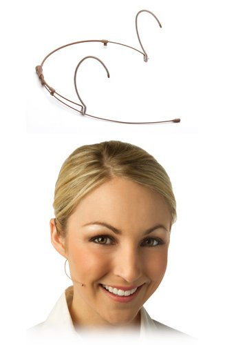 Countryman H6DW6TSL H6 Directional Headset Microphone for Shure Wireless, in Tan H6DW6T-SL
