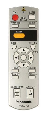 Panasonic N2QAYB000154 Remote Control for PT-F200U N2QAYB000154