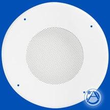 """Atlas Sound 61-12W Decorative Steel Baffle 12"""" White 61-12W"""