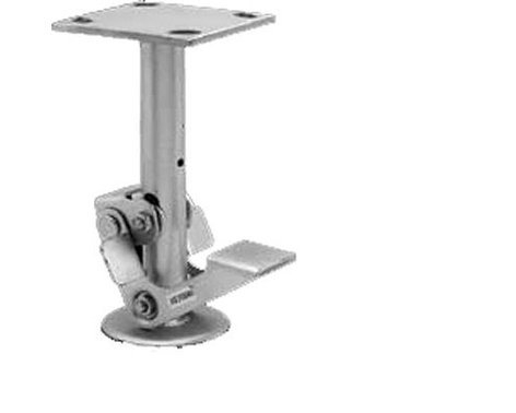 Rose Brand Floor Lock for Holding Rolling Scenery Wagons in Place, Zinc Finish FLOOR-LOCK