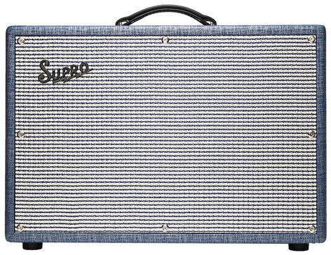 "Supro 1624T Dual-Tone 24 Watt 1x12"" Tube Combo Amp DUAL-TONE"