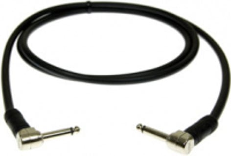 Pro Co LPPLL-2 2 ft. Right Angle TS to Right Angle TS Instrument Cable LPPLL-2