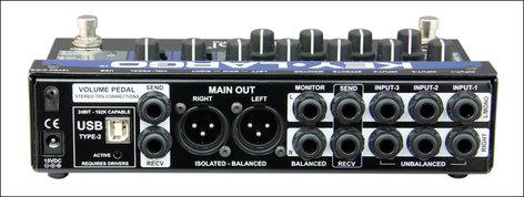 Radial Engineering Key-Largo Keyboard Mixer, Performance Pedal and DI Box KEY-LARGO