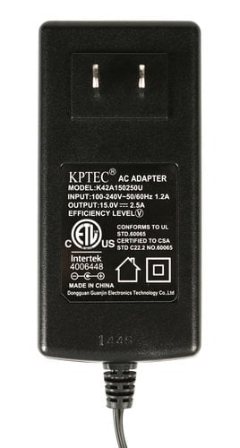 M-Audio 13010113-A  15v AC Adapter for ProjectMix I/O 13010113-A