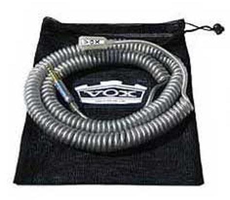 Vox Amplification VCC090BK 29.5ft Coiled Cable, Black VCC090BK