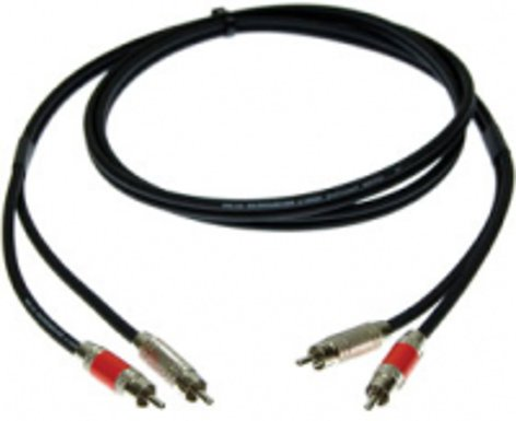 Pro Co DKRR-15 15 ft. Dual RCA Male to Male Excellines Patch Cable DKRR15
