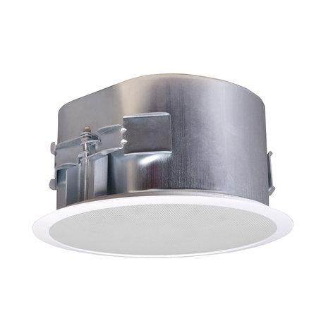 SoundTube CM82-EZ-II 2-Way Coaxial Ceiling Speaker, White CM82-EZ-II-WH