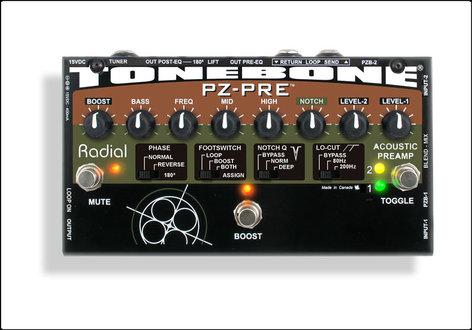 Radial Engineering PZ-Pre Acoustic Instrument Preamplifier PZ-PRE