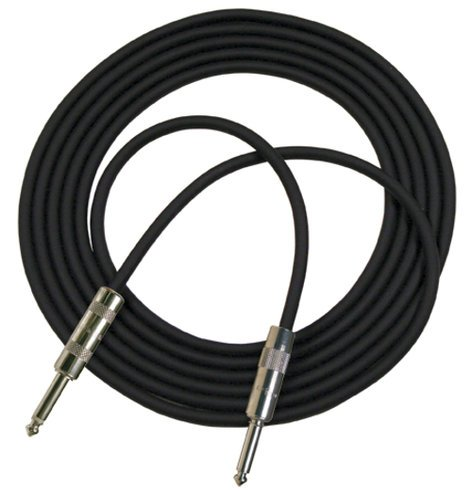"RapcoHorizon Music G1S-20 20 ft G1 Series 1/4"" Male to Male Instrument Cable with Shrink Over Barrel G1S-20"