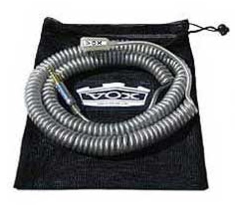 Vox Amplification VCC090RD 29.5ft Coiled Cable, Red VCC090RD