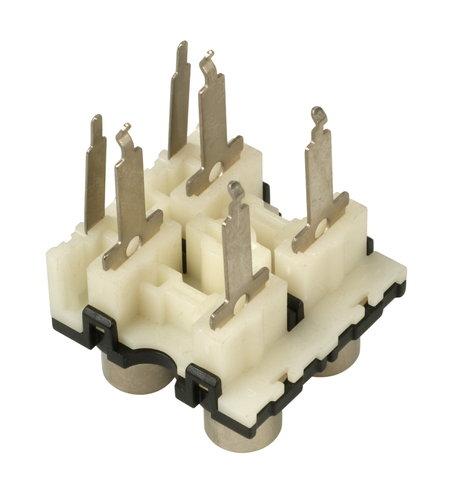Behringer W68-04004-03284  DX1000 RCA Jacks W68-04004-03284