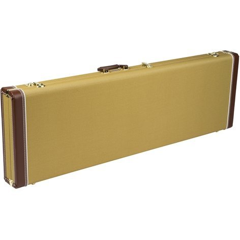 Fender Pro Series Bass Case for Precision & Jazz Bass Hardshell Case with Plush Interior 099-6175-300