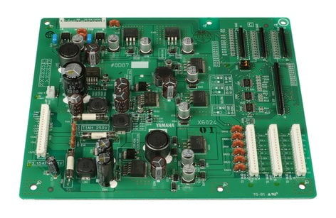 Yamaha WD866501 DC In PCB for Yamaha M7CL WD866501