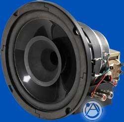 "Atlas Sound 8CXT60 In-Ceiling Speaker, Coaxial 2-Way, 8"", 150W 70.7V/100V Transformer 8CXT60"
