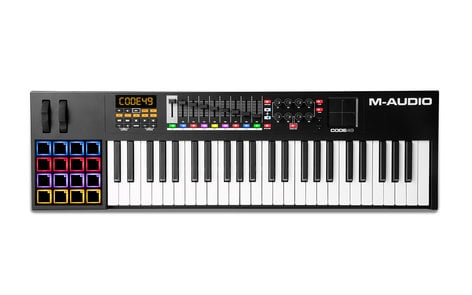 M-Audio Code 49 49-Note USB MIDI Keyboard Controller with X/Y Touch Pad CODE-49