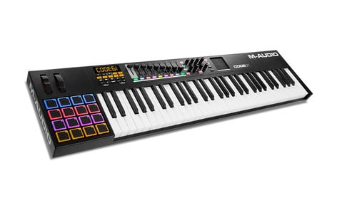 M-Audio Code 61 61-Note USB MIDI Keyboard Controller with X/Y Touch Pad CODE-61