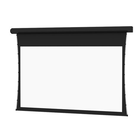 "Da-Lite 21870L  92"" x 164"" Tensioned Cosmopolitan Electrol Projection Screen with Low Voltage Kit 21870L"