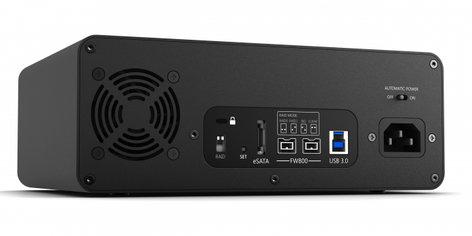 Glyph Technologies StudioRAID SR16000 16TB External Hard Drive, 7200RPM, USB 3, FW800 , eSATA SR16000