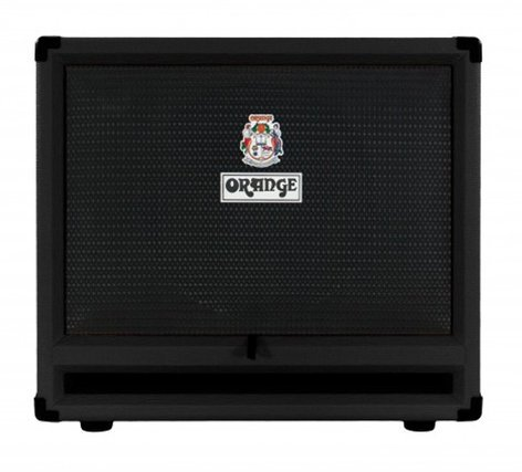 "Orange Amplification OBC212 Black 2x12"" Ultra-Light Isobaric Bass Speaker Cabinet OBC212-BLACK"