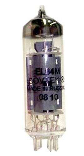 Sovtek EL84M/6BQ5WA Guitar Amp Tube, Mil-Spec Platinum [INDIVIDUAL] EL84M/6BQ5WA