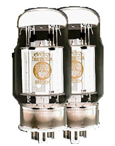 Electro-Harmonix 6550EH-DUET Matched Pair of 6550 Power Vacuum Tubes 6550EH-DUET