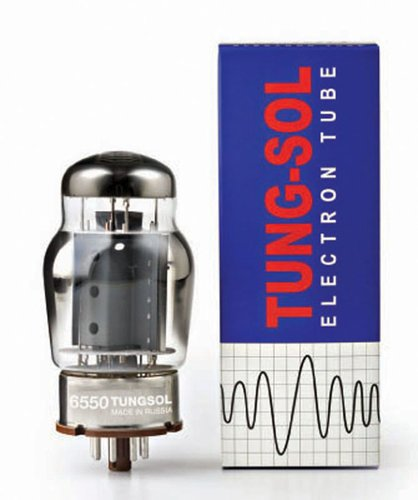 Tung-Sol T-6550 6550 Power Vacuum Tube T-6550-TUNG