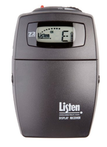 Listen Technologies LR-400-072 72MHz Portable Display RF Receiver LR400-072
