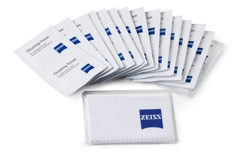 Zeiss Moist Cleaning Wipes 10 Pack 2096-687