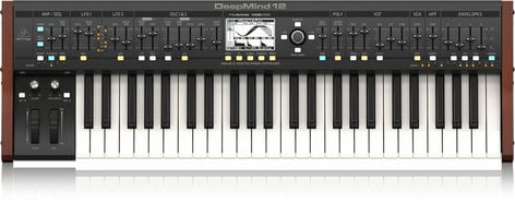 Behringer DEEPMIND 12 True Analog 12-Voice Polyphonic Synthesizer  DEEPMIND-12