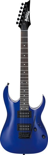 Ibanez GRGA120 GIO RGA 6-String Electric Guitar, Jewel Blue GRGA120JB