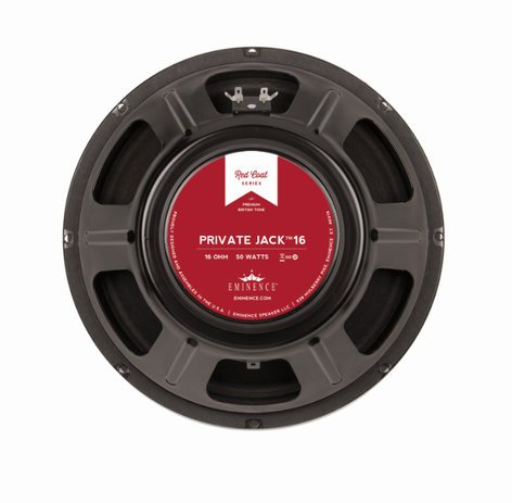 "Eminence Speaker PRIVATE JACK 16 12"" 16 Ohm 50/100W Guitar Woofer PRIVATE JACK 16"