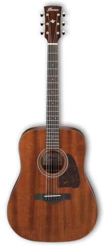 Ibanez AVD9MH Artwood Vintage Thermo Aged Dreadnought Acoustic Guitar - Open Pore Natural AVD9MHOPN