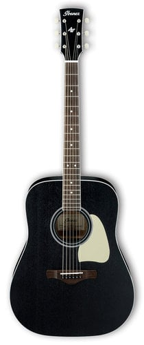 Ibanez AW360 Artwood Dreadnought Acoustic Guitar - Weathered Black Open Pore AW360WK