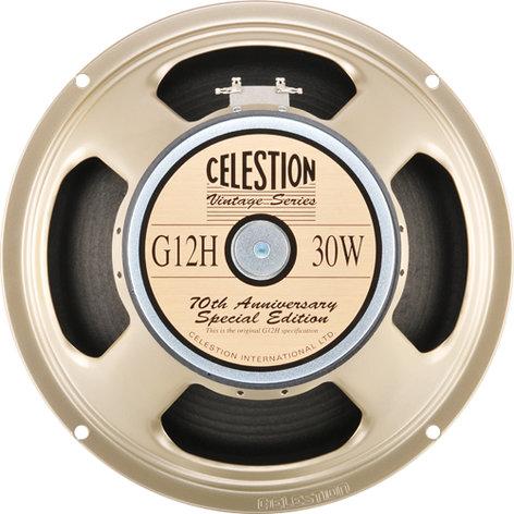 "Celestion G12H Anniversary Edition 12"" Guitar Speaker G12H-ANNIVERSARY-ED"