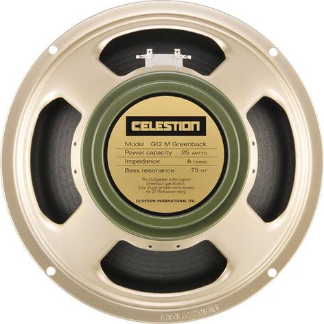 """Celestion G12M Greenback 12"""" Guitar Speaker G12M-GREENBACK"""