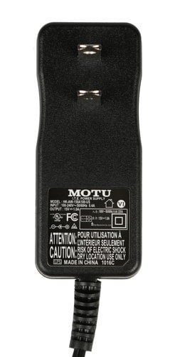 MOTU USADAPTER/AEXPRESS Power Supply for Audio Express USADAPTER/AEXPRESS