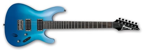 Ibanez S521-OFM Ocean Fade Metallic Six String Electric Guitar S521OFM
