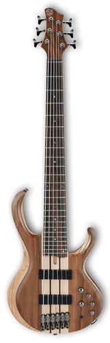 Ibanez BTB746 6-String Electric Bass - Natural Low Gloss BTB746NTL